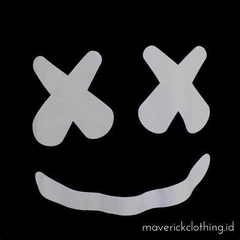 Tshirt Kaos Marshmellow Dj jual kaos marshmello black kaos edm kaos dwp marshmello