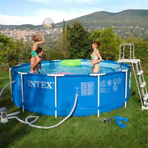 piscine tubulaire pas cher 859 piscine intex tubulaire pas cher promo piscine tubulaire
