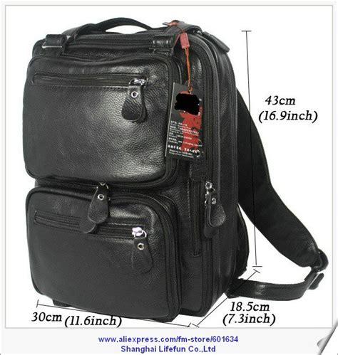 Tas Kulit Asli Genuine Leather Bag pria baru tas travel kulit asli dual fungsi tas bahu