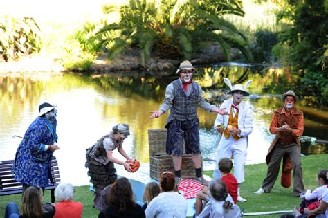 Shakespeare Botanical Gardens Melbourne Kidding Around At Wind In The Willows By The Australian Shakespeare Company Kidding Around