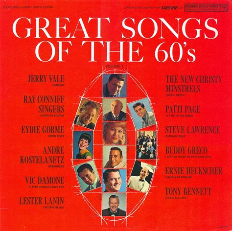 60s swing sheet songs in the 60 s