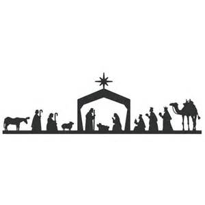 nativity silhouette template nativity templates new calendar template site