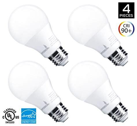 Bohlam Led 9w Lu 9 Watt Halilintar 10 Butir Smd 5730 hyperikon a19 dimmable led light bulb 9w 60w equivalent import it all