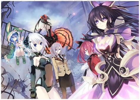 date alive anime date a live episode 1 review quot april 10th quot