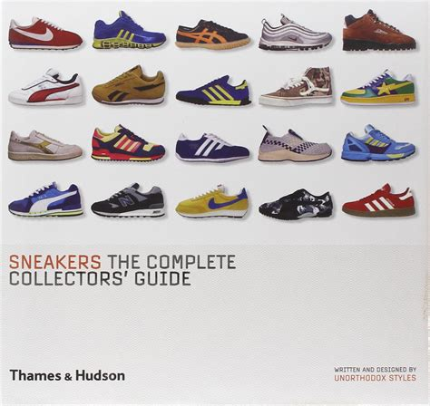 sneakers the complete collectors guide fonts in use