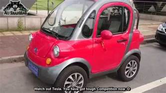 Electric Cars In India News Made In China Two Seater Electric Car