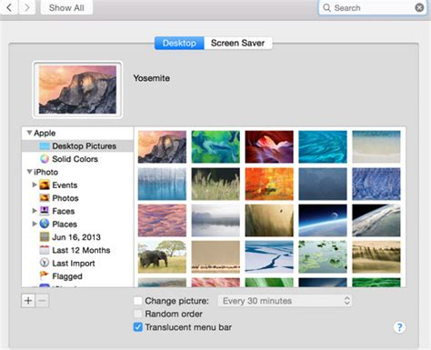 wallpaper location mac yosemite how to change desktop background picture on mac os x yosemite