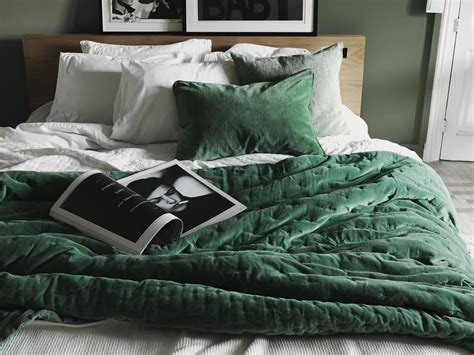 velvet blankets and comforters green velvet paolo bedspread bed bath pinterest
