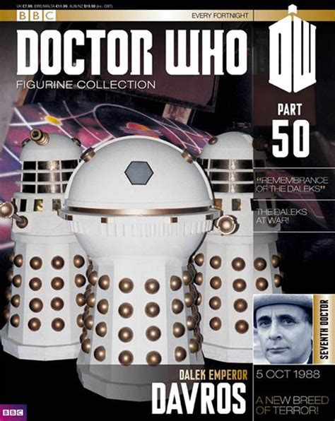 figure magazine doctor who figure collection magazine issue 50