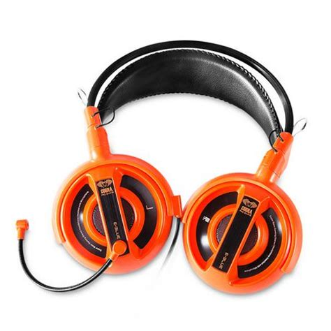 E Blue Cobra Gaming Headset Orange 1 e blue cobra professional gaming headset orange walmart ca