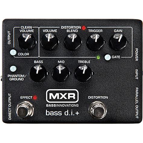 Mxr M80 Bass D I mxr m80 bass d i bass guitar pedal m80 b h photo