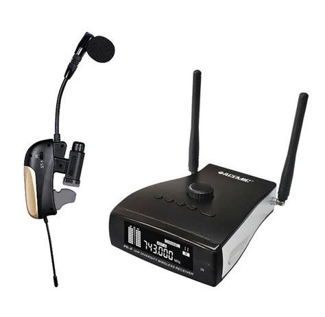 Mic Wireless Beyermic Uhf X800 acemic pro uhf 665 690mhz 80m wireless saxophone trumpet mic microphone al ebay