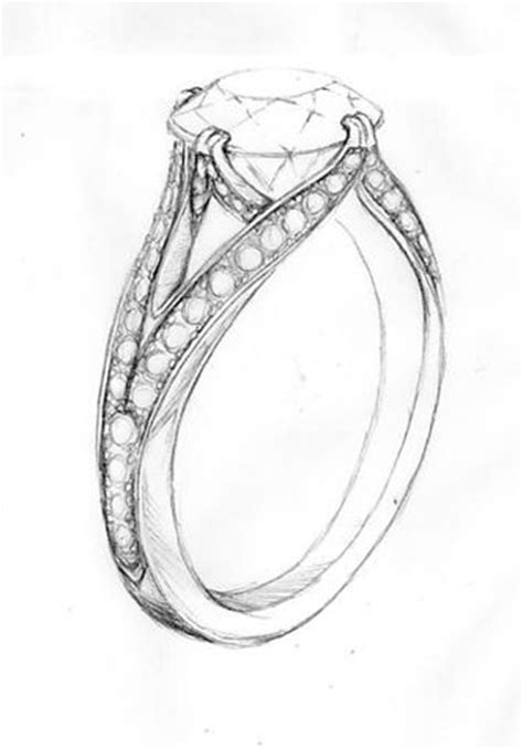 25 best ideas about ring sketch on jewelry