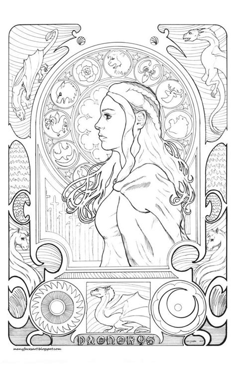 thrones coloring book 1000 images about color me pretty got on