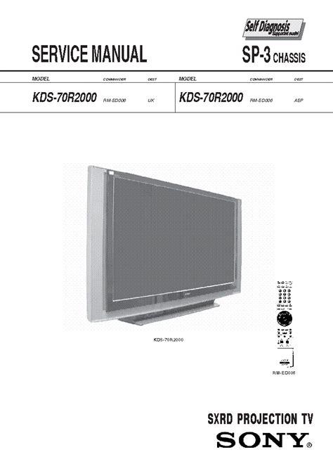 sony kds 50a2020 l replacement instructions sony kdl 40v4000 kdl 46v4000 kdl 52v4000 chassis eg1l l