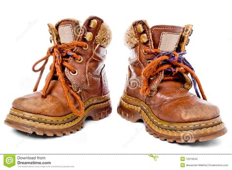 used shoes used children shoes stock photography image 12015642