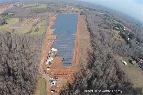 united renewable energy utility scale solar energy storage