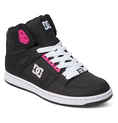 dc shoes high tops for s rebound high tx se high top shoes adjs100065 dc
