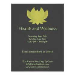 Lotus Health And Wellbeing Wellness Flyers Leaflets Zazzle Au