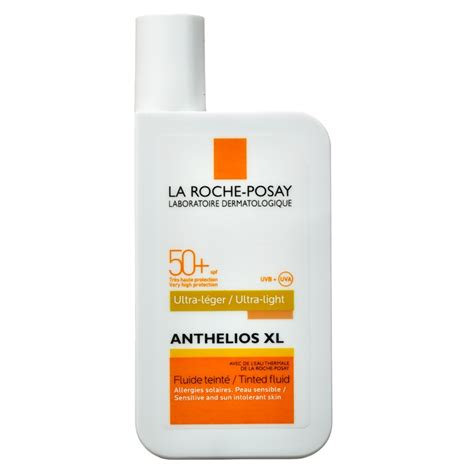 anthelios 50 mineral ultra light sunscreen fluid 1 7 fl oz la roche posay anthelios xl ultra light tinted fluid