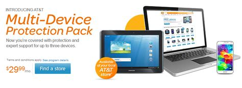 at t cell phone insurance at t intros multi device insurance plans for your phone tablet and laptop 29 99 a month with