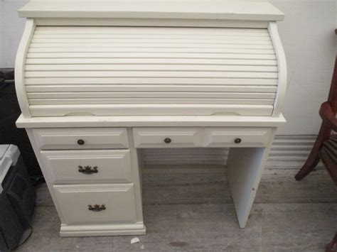 roll top desk white white roll top desk
