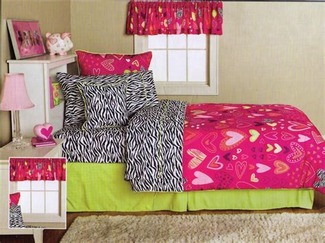 pink zebra comforter set full new 9pc hearts zebra pink lime black comforter sheets set
