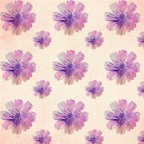 watercolor pattern brushes watercolor floral pattern photoshop vectors
