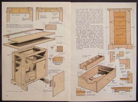 cabinet workbench saw table how to build plans 2x4 ply ebay