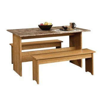 small kitchen table and bench set