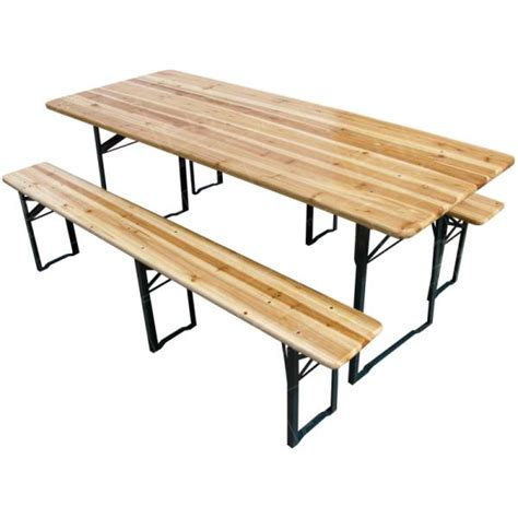 wooden bench uk wooden folding rectangular table benches set