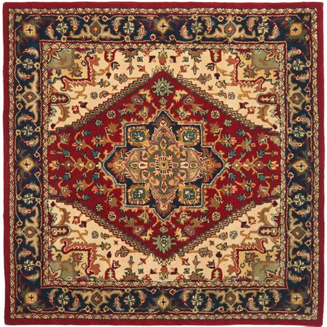 Rugs 6 Ft by Safavieh Heritage 6 Ft X 6 Ft Square Area Rug Hg625a