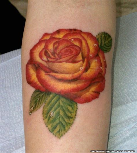 peach rose tattoo the gallery for gt roses