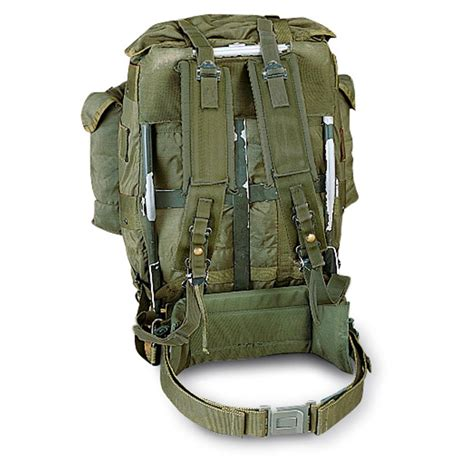 army bags and packs u s surplus large pack with frame used