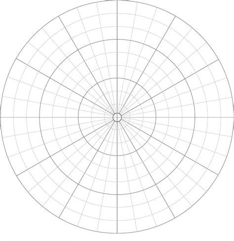 polar graph paper polar graph paper divisions each 10 degrees pinteres