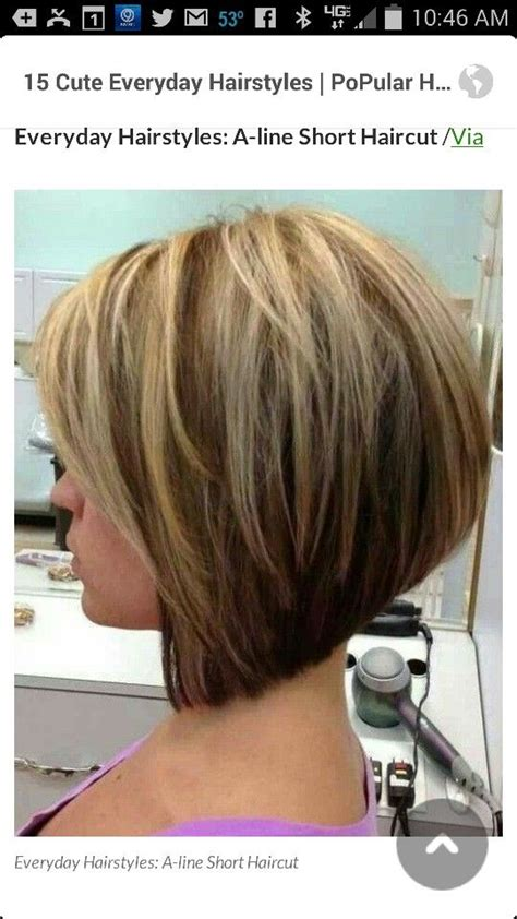 urly stacked bopoo permed hair 17 best images about hair on pinterest bobs loose perm