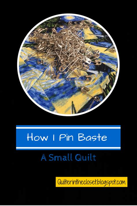 how to pin baste a quilt on a table quilter in the closet how to pin baste a small quilt a