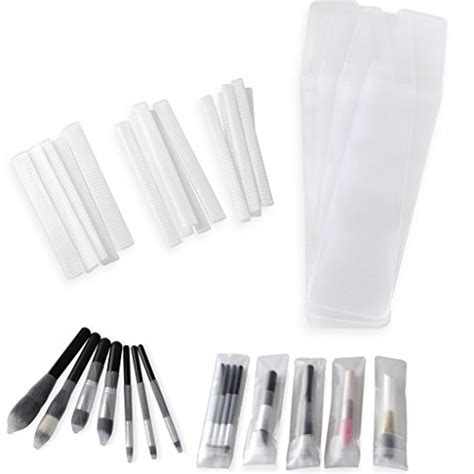 Mesh Make Up Brush Cover clothobeauty 15 pcs cosmetic make up brush pen guards
