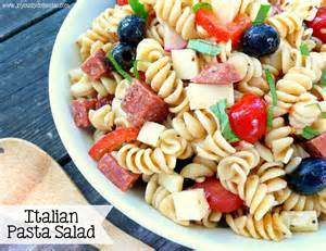 cold pasta salad with italian dressing joyously domestic june 2014