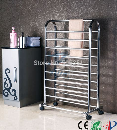 free standing towel rack electric towel heater stainless