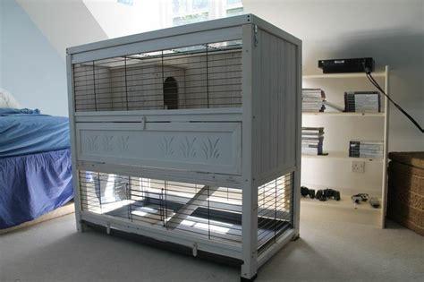 premuim large indoor oudoor white decorative rabbit hutch