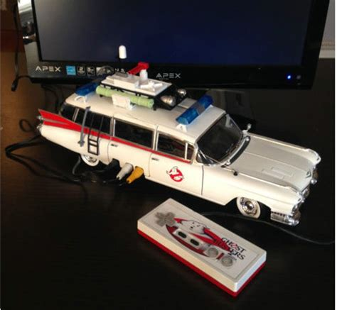 Retro Console System Brings Together The Best Of The 20th Century by Mod Ghostbusters Ecto 1 Car Turned Into Nintendo Nes Hits