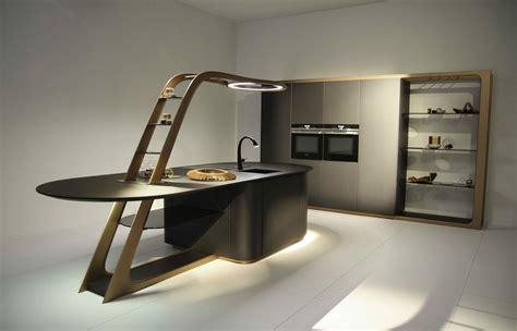 coperchio che cucina la cucina futuro 232 smart compatta e con chef