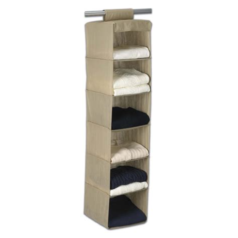 breathable hanging sweater organizer in hanging closet shelves
