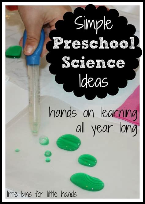 science themes pictures 25 classic science experiments for kids little bins for