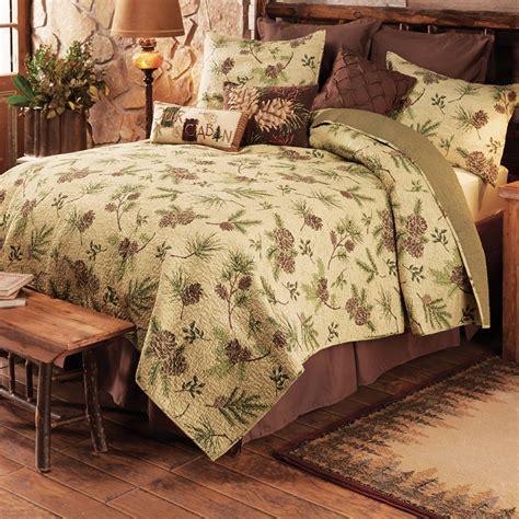 pinecone bedding pinecone valleyquilt bed set queen