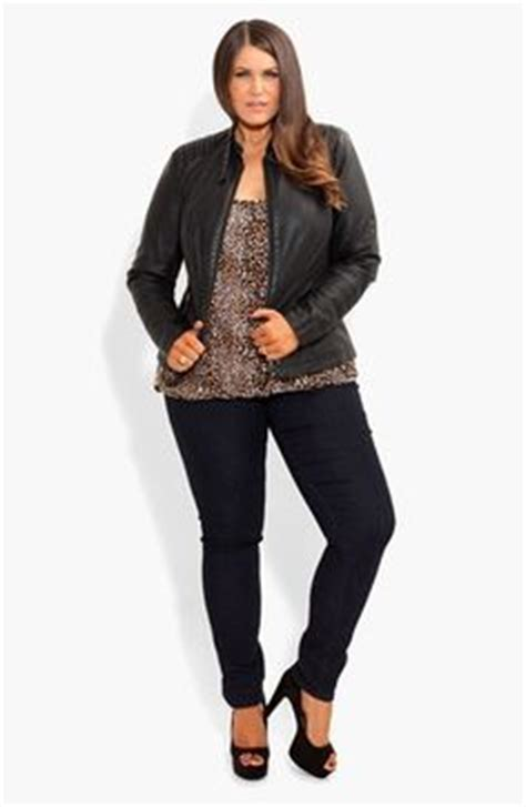 Found A City Chic Leather Coat by Winter On 46 Pins