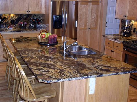 kitchen island with granite countertop paramount granite 187 10 ways to use granite in your home