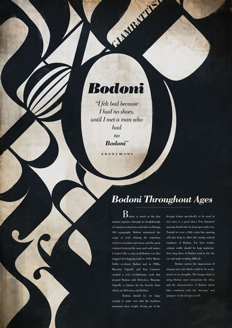 Type Layout Design | bodoni typeface by randyblinkaddicter on deviantart