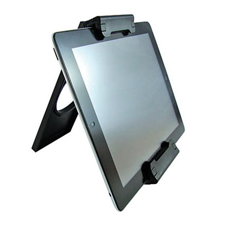 tablet claw grip stand for tablets black by office depot